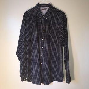 Eddie Bauer TXL button down shirt